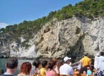 Peschici Gargano giro delle grotte 119