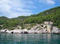Peschici Gargano giro delle grotte 148