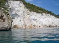 Peschici Gargano giro delle grotte 158