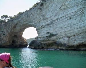 Peschici Gargano giro delle grotte 39