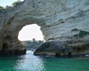 Peschici Gargano giro delle grotte 40