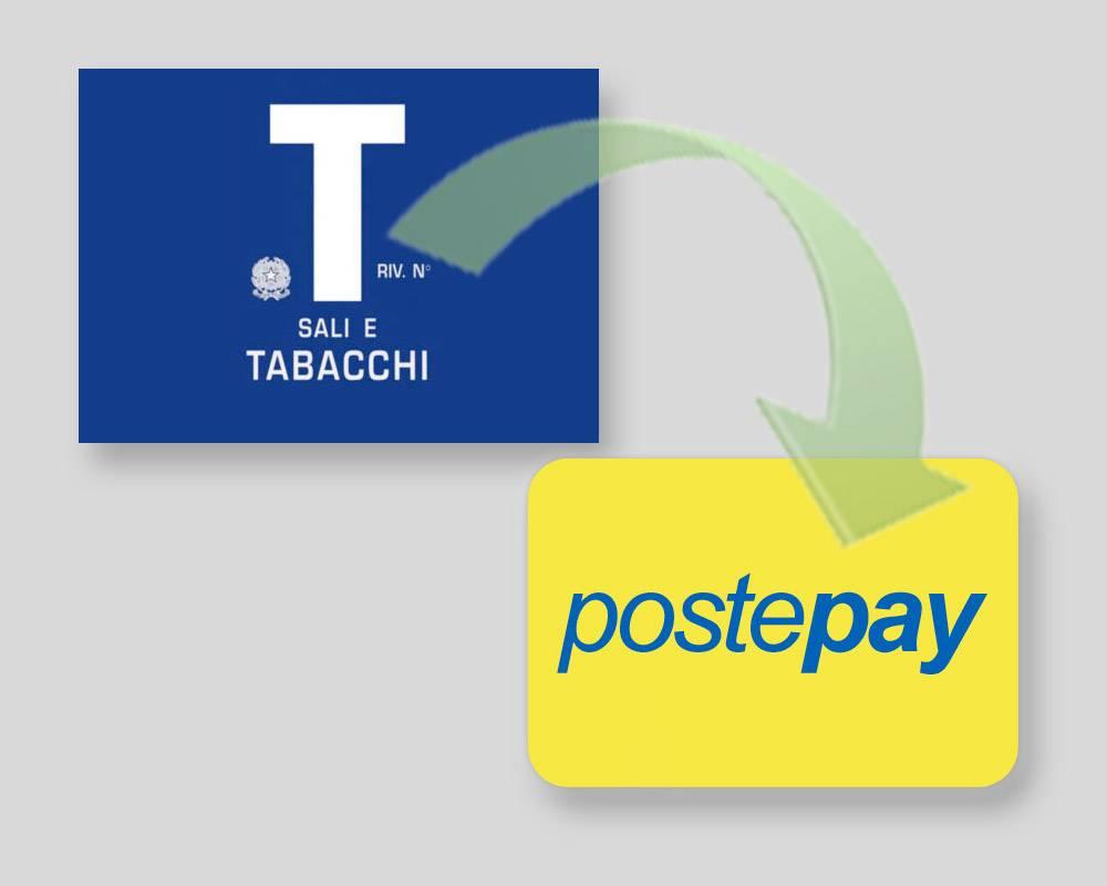 Effettua una ricarica Postepay